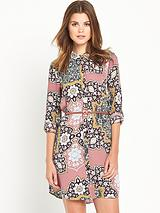River Island Paisley Print Shirt Dress