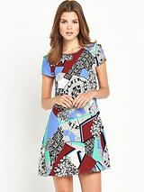 River Island Printed Swing Dress