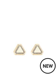 river-island-triangle-stud-earrings