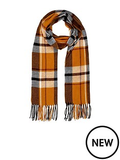 river-island-check-scarf