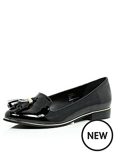 river-island-patent-tassle-loafers