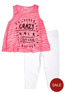 river-island-mini-girls-crazy-hair-vest-and-leggings-2-piece-set