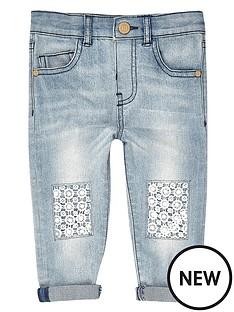 river-island-mini-girls-denim-boyfriend-jeans-with-crochet-knees