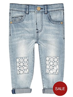 river-island-mini-girls-denim-boyfriend-jeans-with-crochet-knees