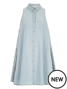 river-island-girls-denim-trapeze-dress
