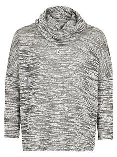 river-island-girls-spacedye-cowl-neck-jumper