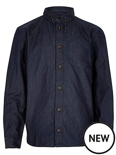 river-island-boys-roll-sleeve-denim-shirt
