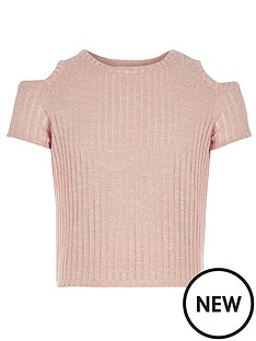 river-island-girls-cold-shoulder-t-shirt