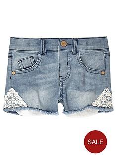 river-island-mini-girls-denim-shorts-with-crochet-trim
