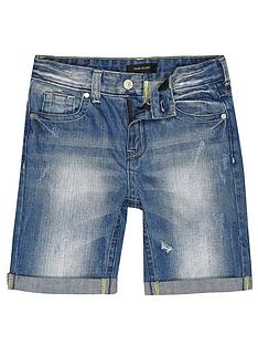 river-island-boys-alladin-bleachy-rip-denim-shorts