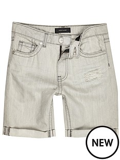 river-island-dylan-grey-rip-shorts