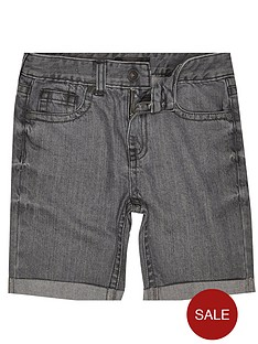 river-island-boys-grey-denim-shorts