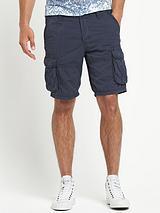 Mens Blizzard Cargo Twill Shorts