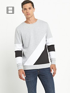 river-island-mens-cut-and-sew-sweatshirt