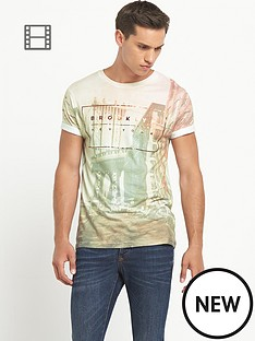river-island-mens-pink-short-sleeve-crew-brooklyn-city-t-shirt