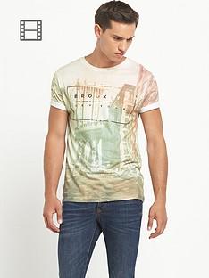 river-island-mens-pink-short-sleeve-crew-brooklyn-city-t-shirt