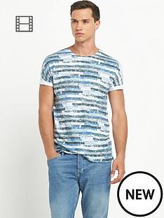 river-island-mens-white-short-sleeve-crew-black-textured-geo-print-t-shirt
