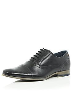 river-island-mens-oxford-toe-cap-shoes-black