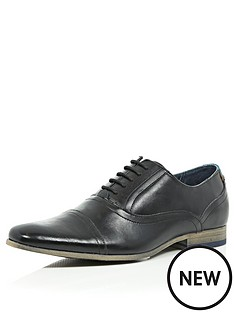 river-island-mens-oxford-toe-cap-shoes-black