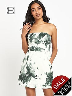 river-island-printed-a-line-bandeau-dress
