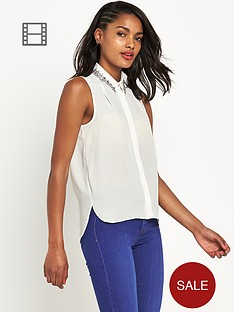 river-island-embellished-collar-blouse