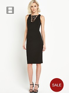 river-island-eyelet-lace-up-pencil-dress