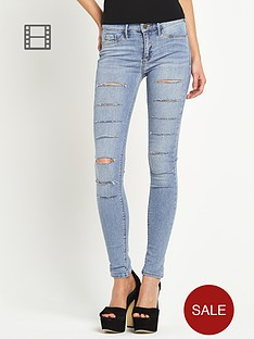 river-island-super-slashed-light-wash-skinny-jeans