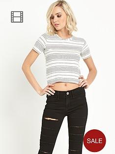 river-island-short-sleeve-stripe-t-shirt