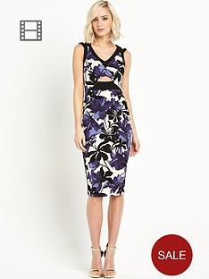 river-island-printed-cut-out-pencil-dress