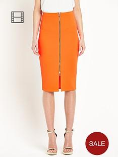 river-island-neon-zip-front-pencil-skirt
