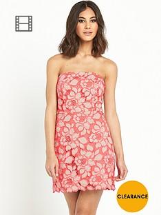 river-island-lace-bandeau-aline-dress