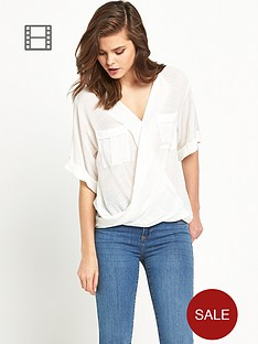 river-island-casual-wrap-blouse