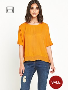 river-island-tangerine-oversized-top