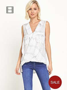 river-island-casual-printed-wrap-blouse