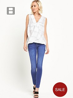river-island-amelie-blue-skinny-jeans