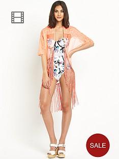 river-island-mesh-knotted-fringe-kimono