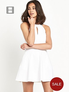 river-island-90s-neck-aline-white-dress
