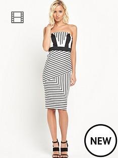 river-island-stripe-bandeau-pencil-dress