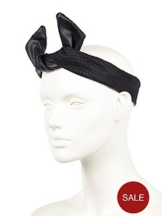 river-island-snake-wire-wrap-headband