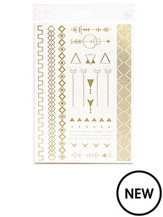 river-island-metallic-temporary-tattoos