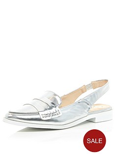 river-island-slingback-point-toe-loafers