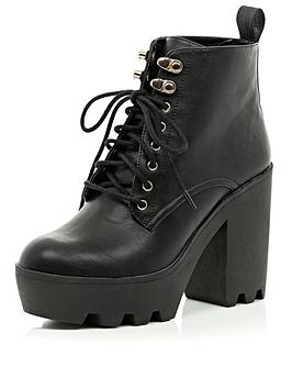 river-island-pacup-lace-up-cleated-sole-chunky-heeled-boots