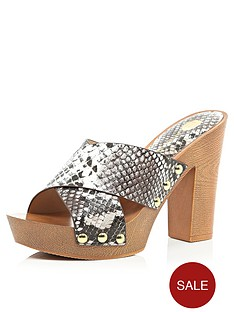 river-island-cross-strap-wooden-heeled-mule-sandals