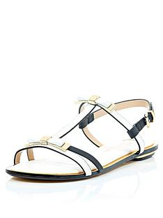 river-island-bow-detail-sandals