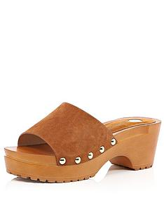river-island-mule-clog-low-heel-sandals