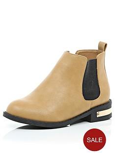 river-island-girls-tan-chelsea-boots