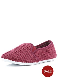 river-island-boys-slip-on-mesh-shoes