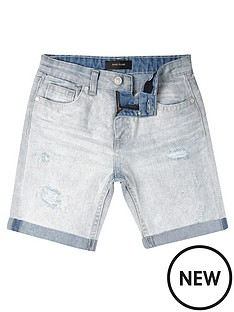 river-island-boys-ripped-denim-shorts