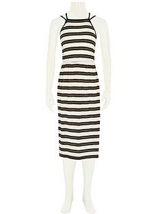 river-island-stripe-metallic-maxi-dress