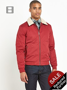 river-island-mens-borg-collar-harrington-jacket